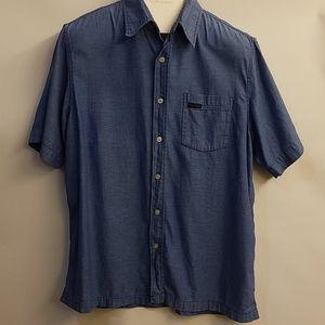 Calvin Klien button up short sleeve shirt